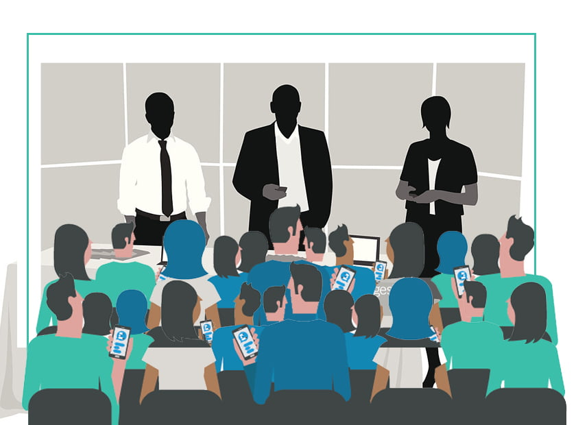 Increasing Audience Engagement through Mobile Session Q&A