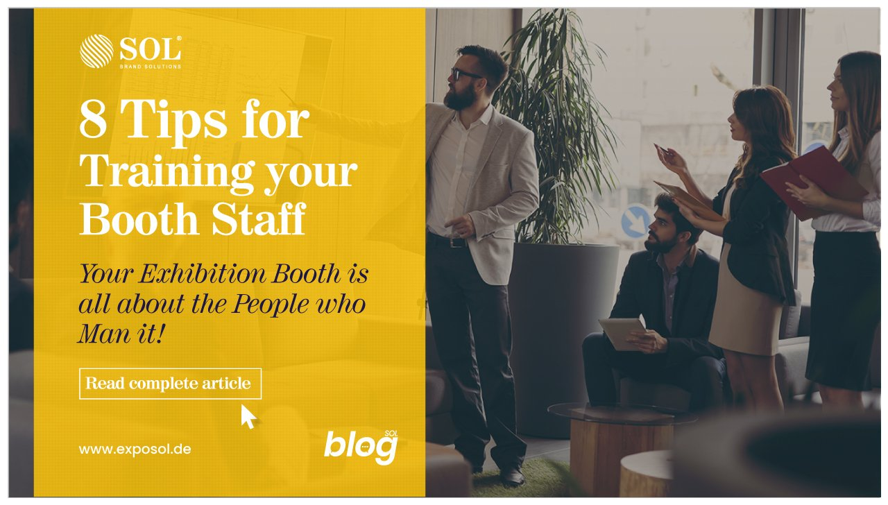 9 Tips for Training the Trade Show Staff