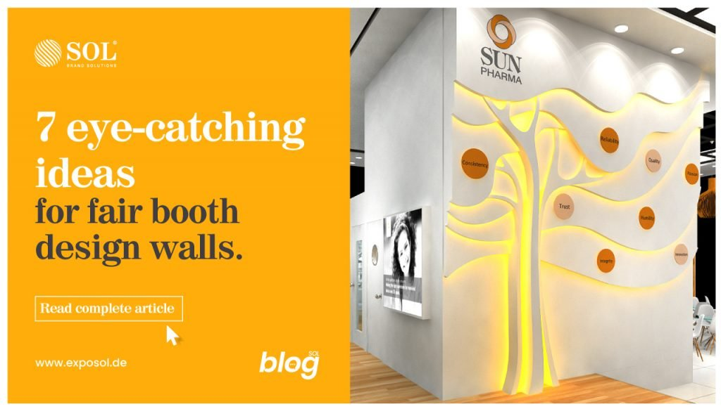 Create Innovative Walls for your Fair Booth Stand Design