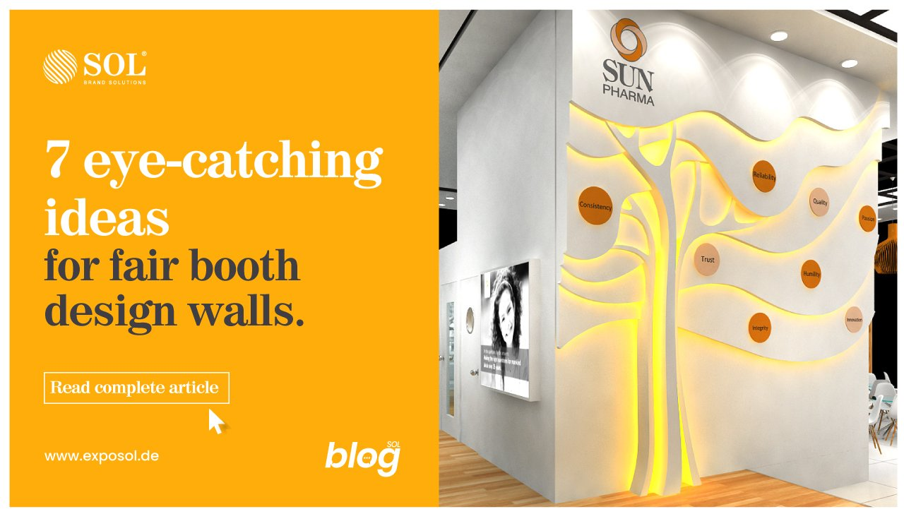 Ways to Create Innovative Walls for your Fair Booth Stand Design