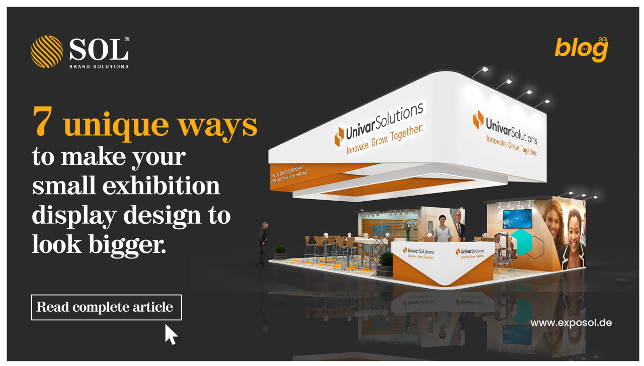 Quirky Ideas to Make your Exhibition Display Design Look More Open