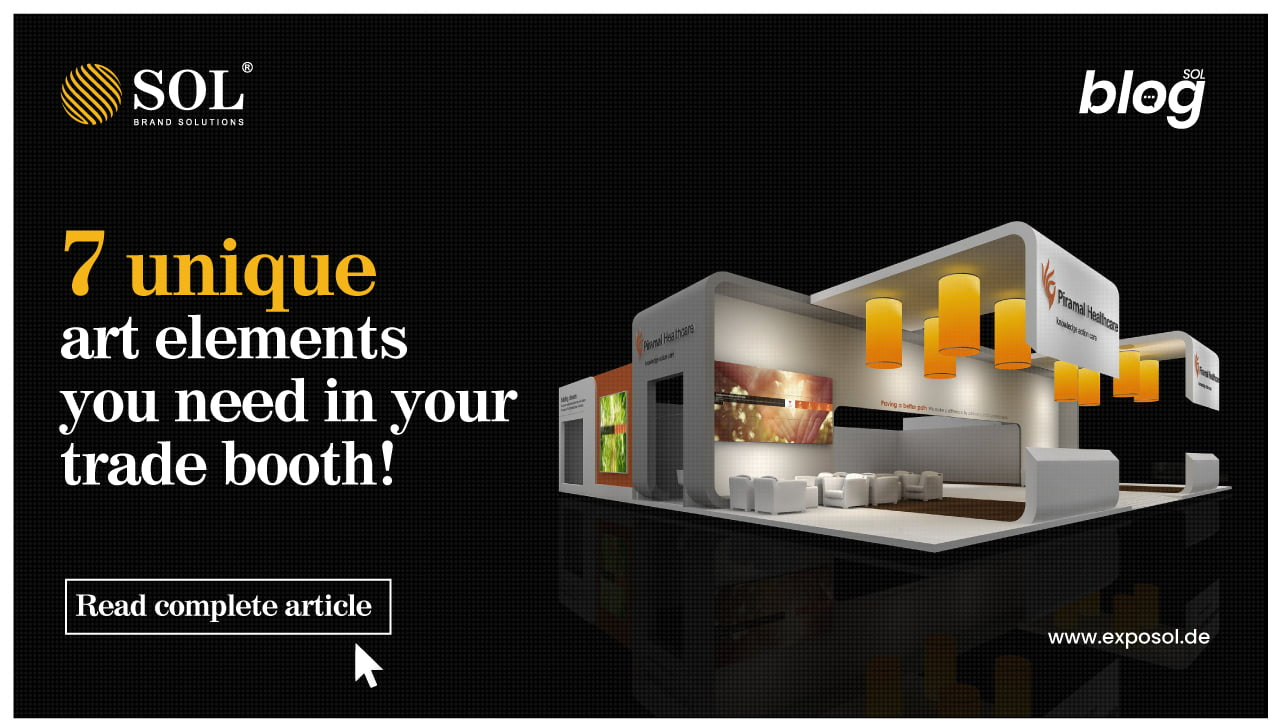 Show-Stopping Art Elements to Incorporate into your Trade Booth