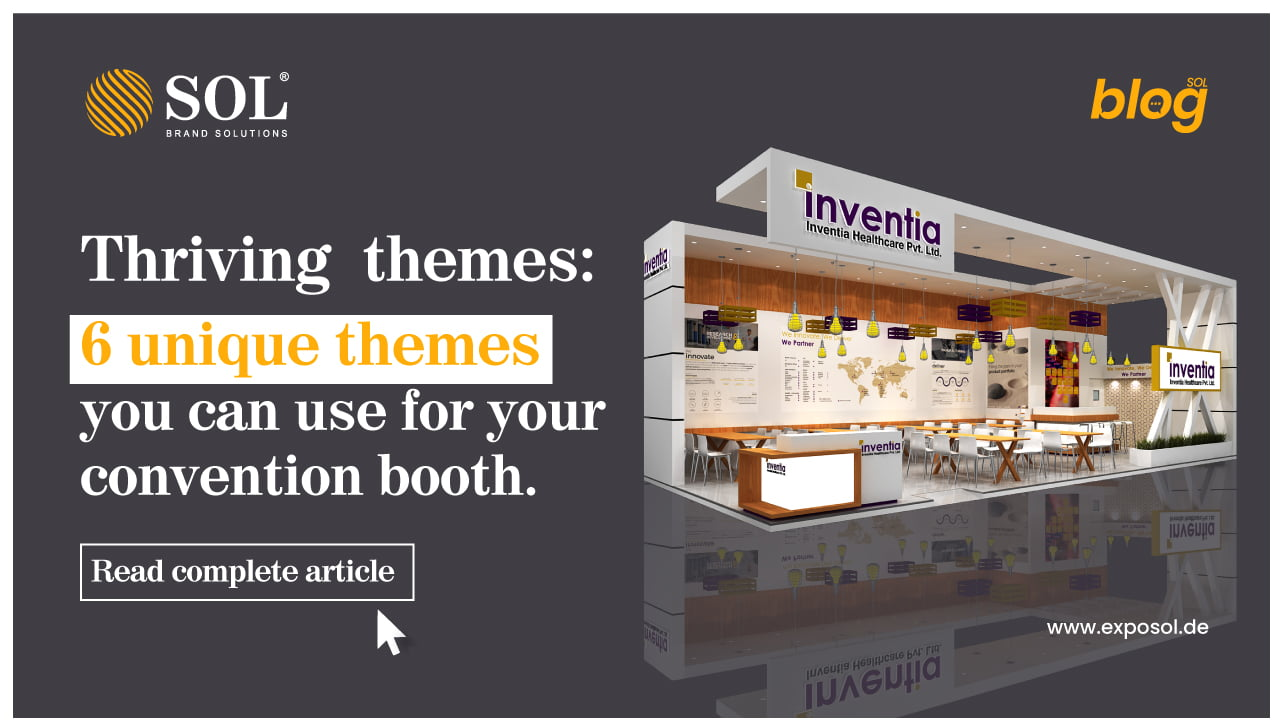 Fun Themes you can Incorporate into your Convention Booth