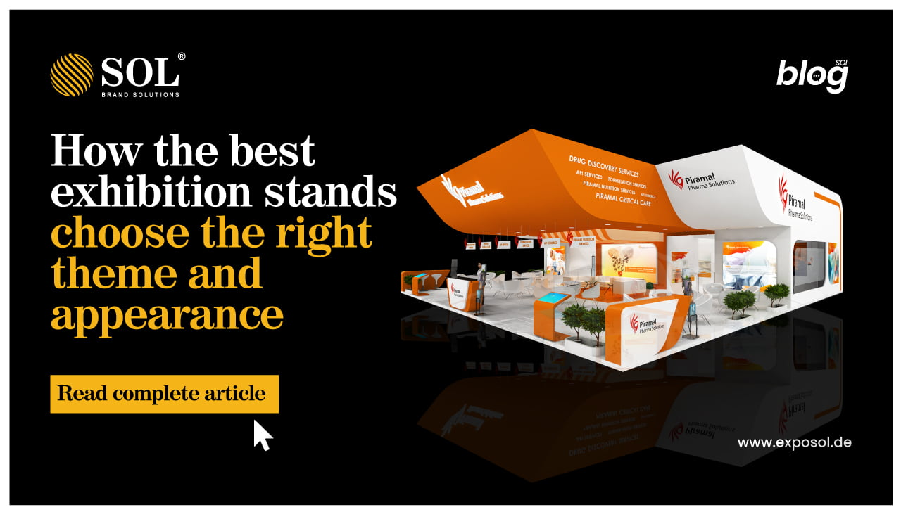 Analyzing the theme and appearance of your best exhibition stands design concepts