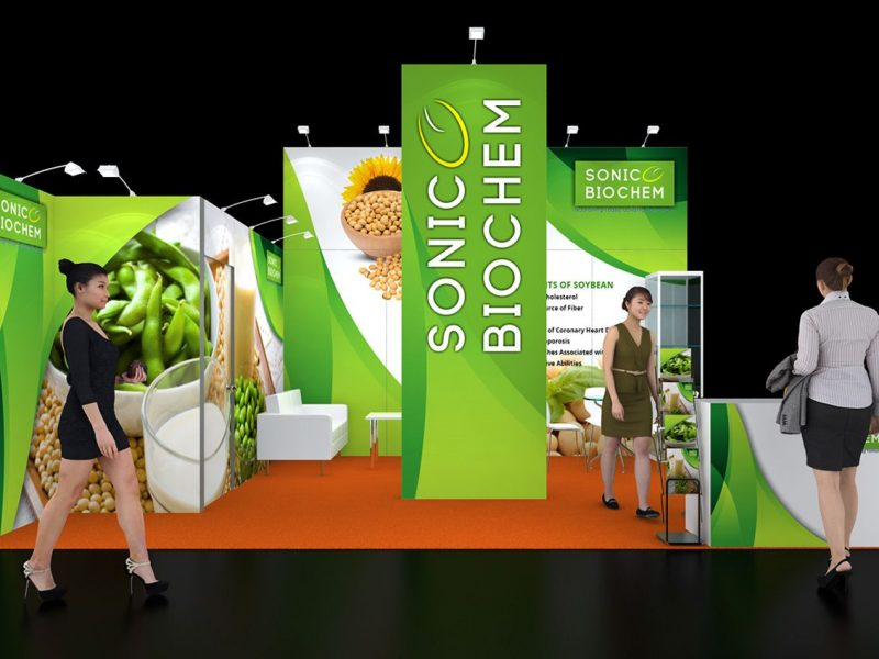 Exhibition Stall Design And Fabrication