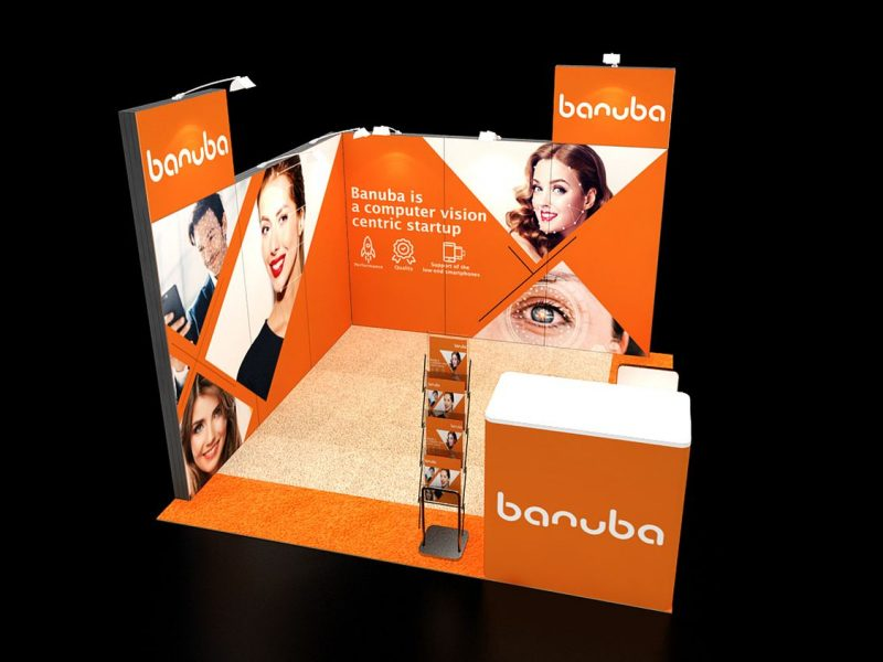 Portable design stands